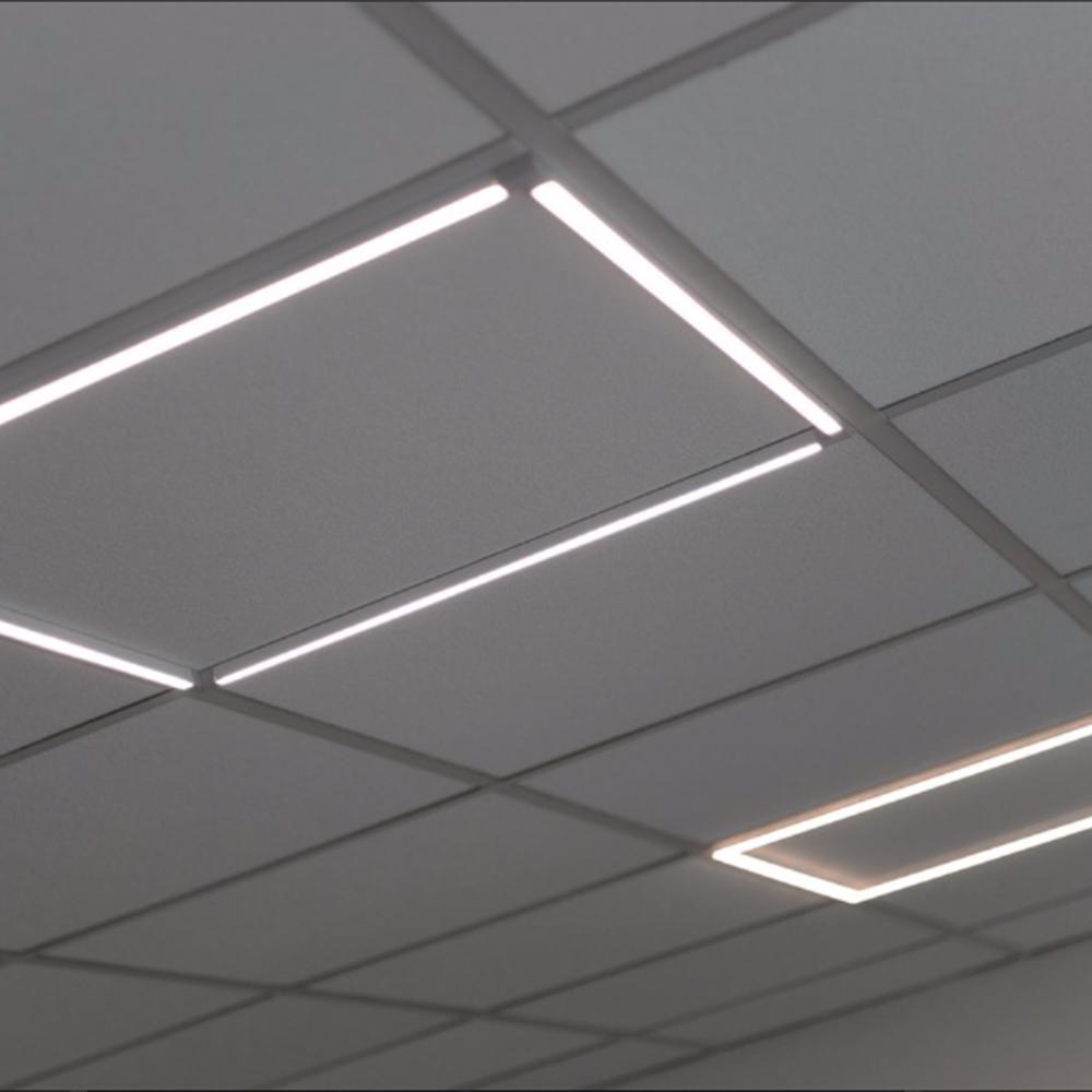 illuminazione tecnica led ufficio pannello