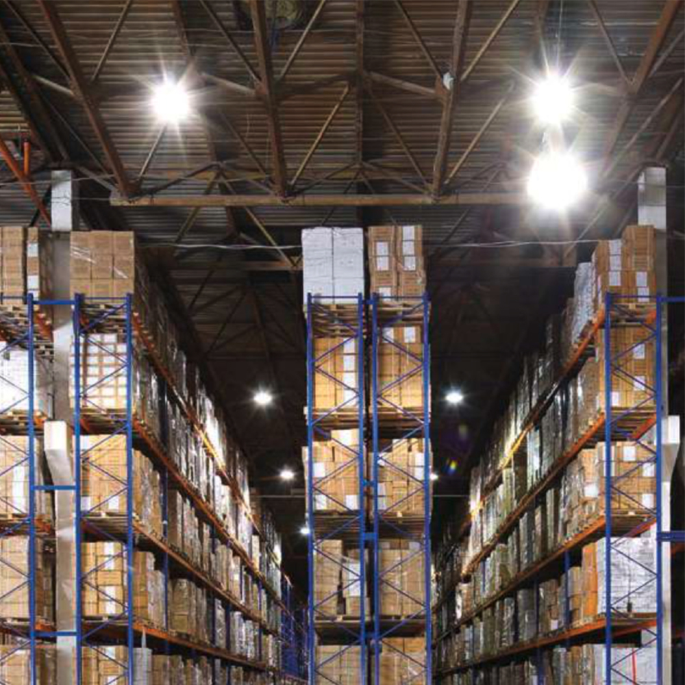 illuminazione tecnica magazzino led ambiente lavoro