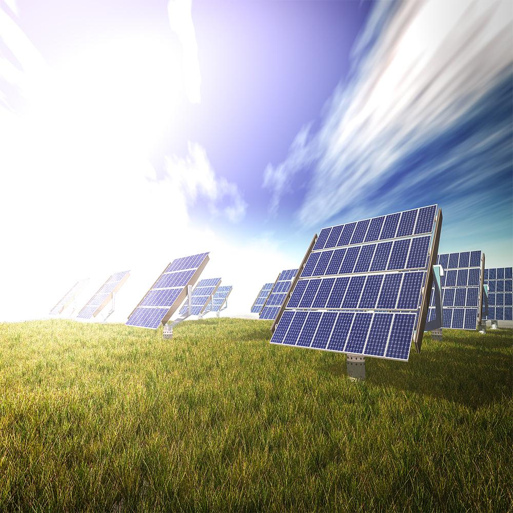 pannelli fotovoltaici sostenibile energia pulita verde elettricista green