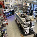 Rivoli negozio banco led faretti utensili yesss electrical